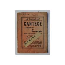 O CATERINCA ! CANTECE CUPLETE SI ROMANTE VOL. IV