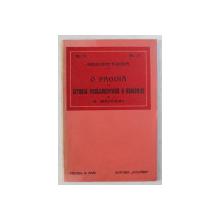 O PAGINA - ISTORIA PARLAMENTARA A ROMANIEI de G. MEITANI , 1914