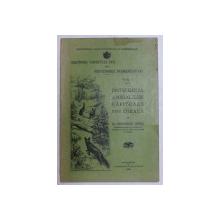 OCROTIREA VANATULUI UTIL PRIN DISTRUGEREA DUSMANILOR LUI - VOL. I - DISTRUGEREA ANIMALELOR  RAPITOARE PRIN OTRAVA de GHEORGHE NEDICI , 1922 , DEDICATIE
