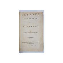OEUVRES COMPLETES DE VOLTAIRE, TOME 14 - PARIS, 1785