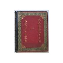 OEUVRES DE RABELAIS par JULES GARNIER , 1897