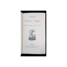 OEUVRES DE VICTOR HUGO, LUCRECE BORGIA - MARIE TUDOR - ANGELO - PARIS, 1835
