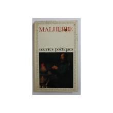 OEUVRES POETIQUES par MALHERBE , 1972