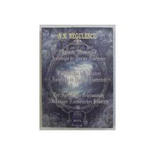 OGLINDA MISTERELOR - ANTOLOGIE DE POEME ESOTERICE de N. N. NEGULESCU , 2014
