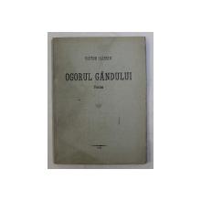 OGORUL GANDULUI - POEME de VICTOR ILIESIU , 1942