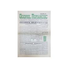 'OGORUL ROMANESC', Anul II, NR. 42, DUMINICA 20 Octombrie 1940