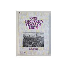 ONE THOUSAND  YEARS  OF BRUM by CARL CHINN , 1999