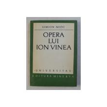 OPERA LUI ION VINEA de SIMION MIOC , 1972
