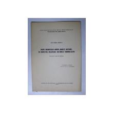OPERA UMANISTULUI ROMAN UDRISTE NASTUREL IN CONTEXTUL RELATIILOR CULTURALE ROMANO - SLAVE , REZUMAT TEZA DE DOCTORAT de DAN HORIA MAZILU  , 1972