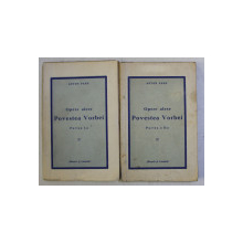 OPERE ALESE -  POVESTEA VORBEI , PARTILE I - II de ANTON PANN , 1943