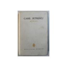 OPERE de CAMIL PETRESCU , VOL. V , 1983