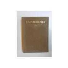 OPERE de I.S. TURGHENIEV, VOL X  1961