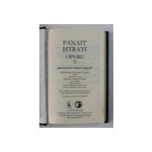 OPERE II , ' ROMANUL LUI ADRIAN ZOGRAFI ' de PANAIT ISTRATI , 2019