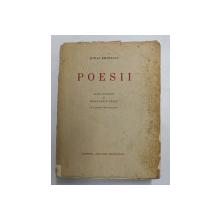Opere Poesii Mihai Eminescu  Editie ingrijita de Constantin Botez,1933