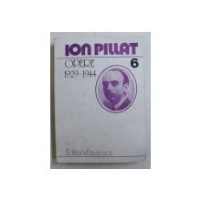 OPERE (PROZA 1916-1942) VOL. VI de ION PILLAT , 1994