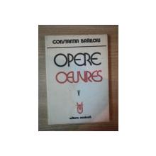 OPERE , VOL V de CONSTANTIN BRAILOIU , 1981