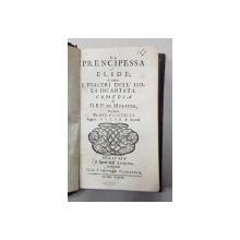 OPT PIESE DE TEATRU de MOLIERE , COLEGAT , TEXT IN ITALIANA , 1697