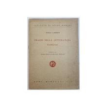 ORAZIO NELLA  LETTERATURA ROMENA di NICOLA J. HERESCU , 1936 , DEDICATIE*