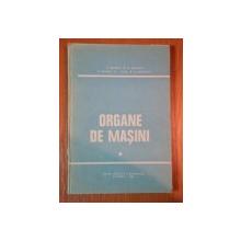 ORGANE DE MASINI de D.PAVELESCU , GH. RADULESCU , M.GAFITANU, I. CRUDU , N. GHEORGHIU , 1985