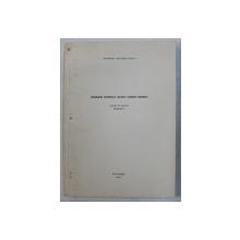 ORGANIZAREA INTERIORULUI LOCUINTEI TARANESTI ROMANESTI de GEORGETA NATALITA STOICA , LUCRARE DE DOCTORAT  - REZUMAT , 1969