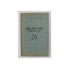 ORGANIZAREA SERVICIILOR DE AERONAUTICA IN FRANTA , ITALIA SI LA NOI de CPT. CDOR . AV. RADULESCU SCARLAT , 1934 , DEDICATIE*