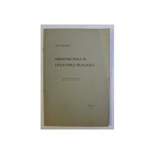 ORIENTARI NOUA IN CERCETARILE FILOLOGICE de OVID DENSUSIANU, 1923