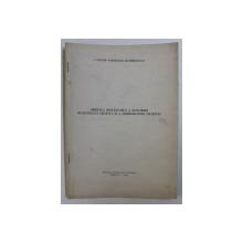ORIGINEA ROMANEASCA A DENUMIRII MUNICIPIULUI CRAIOVA SI A ARHIEPISCOPIEI CRAIOVEI de NESTOR VORNICESCU - SEVERINEANUL , 1975 , DEDICATIE*