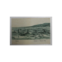ORSOVA  - VASKAPU - PORTILE DE FIER , CARTE POSTALA ILUSTRATA , MONOCROMA, CIRCULATA , DATATA 1929