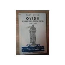 OVIDII , METAMORPHOSES , TRISTIA , PONTICA de BUJOR CHIRIAC