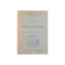 OVIDIU. EXCERPTE DIN TRISTIA SI PONTICA, CLASA VI LICEALA de G. POPA-LISSEANU, IULIU VALAORI, CEZAR PAPACOSTEA  1929