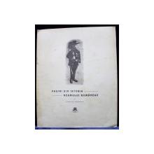 PAGINI DIN ISTORIA NEAMULIU ROMANESC de FLORIAN CRISTESCU - BUCURESTI, 1910