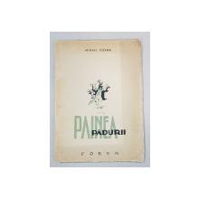 PAINEA PADURII, POEME de MIHAIL COMSA cu un desen de PETRU VINTILA