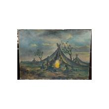 Pan Ioanid (1878-1956) - Satra la foc