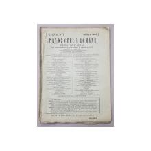 PANDECTELE ROMANE  - REPERTORIU LUNAR DE JURISPRUDENTA , DOCTRINA SI LEGISLATIUNE , director C. HAMANGIU , CAETUL 8 , ANUL V , 1926