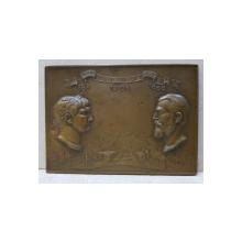 Parintilor Neamului Romanesc, 106-1866, Traian si Carol I - Carol Storck, 1906