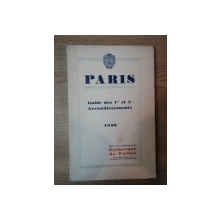 PARIS, GUIDE DES 1 er et 2e ARRONDISSEMENTS 1930