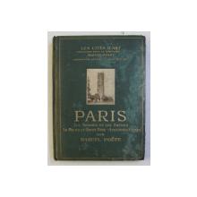 PARIS- LES THERMES ET LES ARENES ...ANCIENNES EGLISES   , COLLECTION ' LES CITES D ' ART ' par MARCEL POETE , 1925