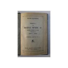 PARTEA I DIN REGELE HERIC IV , DRAMA ISTORICA IN 5 ACTE de WILLIAM SHAKESPEARE