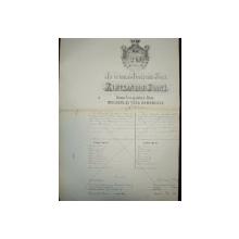 Pasaport in numele Inaltimei Sale Alexandru Ioan Cuza, Principatele Unite 1861