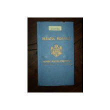 PASAPORT PENTRU STRAINATATE, CAROL II, 1939