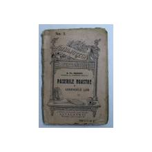 """PASERILE NOASTRE SI LEGENDELE LOR de S . FL. MARIAN , COLECTIA """" BIBLIOTECA PENTRU TOTI """" No. 2  , EDITIE INTERBELICA"""