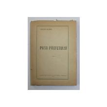 PASII PROFETULUI, poezii  de LUCIAN BLAGA 1921  PRIMA EDITIE