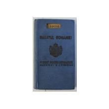 PASPORT PENTRU STRAINATATE . ELIBERAT LA 30 APRILIE 1943