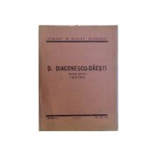 PATIMA BETIEI  - TEATRU de D. DIACONESCU  - DAESTI , BIBLIOTECA PAMANT SI SUFLET OLTENESC NR. 47 - 48 , 1937