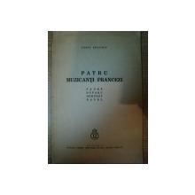 PATRU MUZICANTI FRANCEZI de CONST. BRAILOIU , 1935