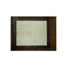 Paul Bujor, scrisoare adresata lui George Cosbuc si Ion Gorun