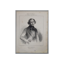 PAUL LACROIX , GRAVURA PE METAL, IMP. D ÁUBERT et Cie. ,  MIJLOCUL SEC. XIX