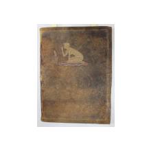 PAUL VERLAINE - FETES GALANTE - COLLECTION 'LES MANUSCRITS DES MAITRES  ' , 1920, EDITIE NUMEROTATA 909 DIN 999 PE HARTIE VELIN , LEGATURA DE ARTA , SEMNATA J. FEYNS * , REPRODUCERE A MANUSCRISULUI LUCRARII *