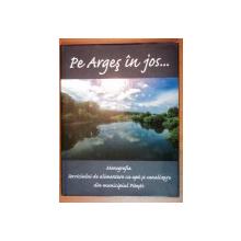 PE ARGES IN JOS ... . MONOGRAFIA SERVICIULUI DE ALIMENTARE CU APA SI CANALIZARE DIN MUNICIUPUL PITESTI  2000