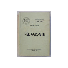 PEDAGOGIE de NICOLAE OPRESCU , 1996
